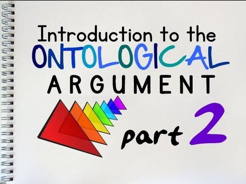 The Ontological Argument (2 of 2) | by MrMcMillanREvis