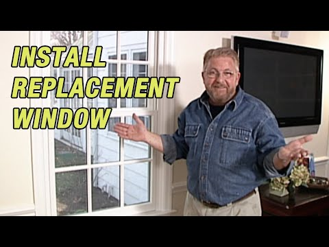 How To Install A Replacement Window