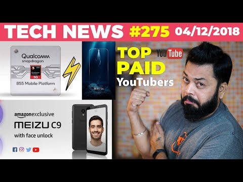snapdragon-855,lenovo-z5s-on-dec-6,-app-of-the-year,meizu-c9,quora-breach,top-paid-youtubers-ttn#275