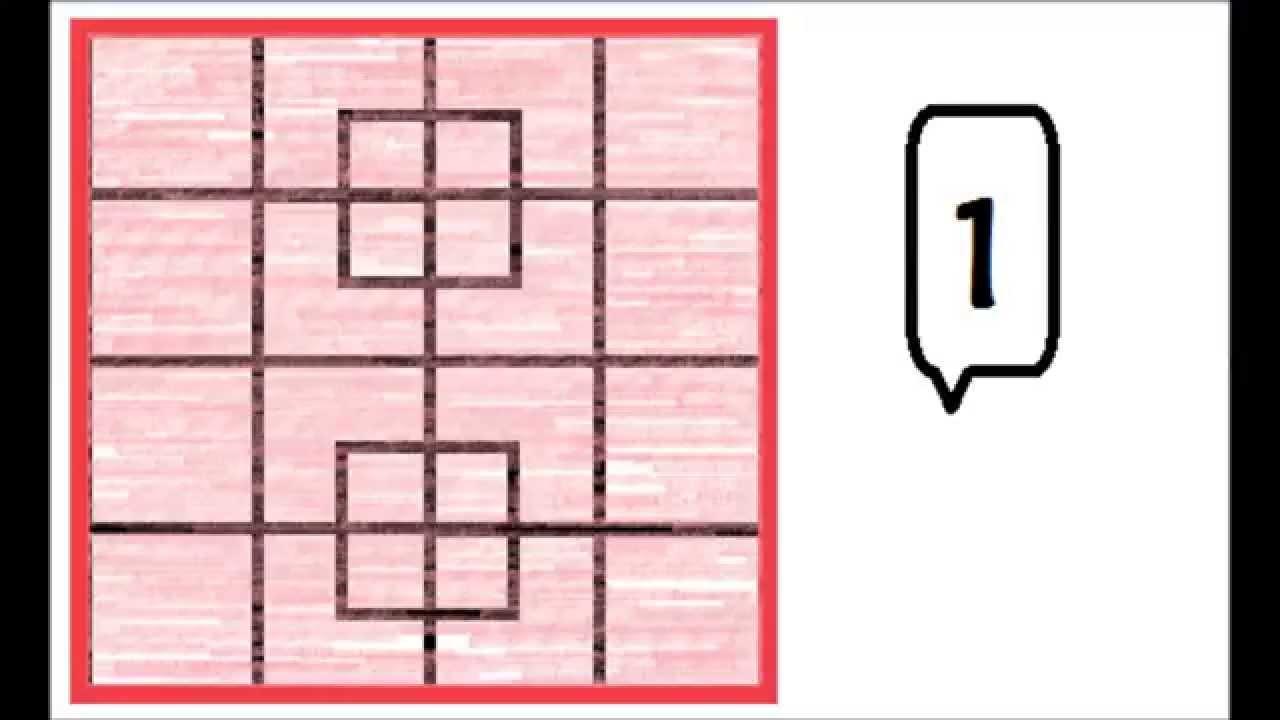 Cuantos cuadrados hay en la figura youtube for Cuantos codones existen
