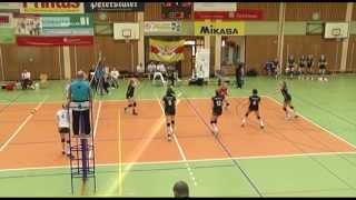 TV Südbaden über das Spiel des VC Olympia Dresden- Die DSC Talente - gegen den VC Offenburg