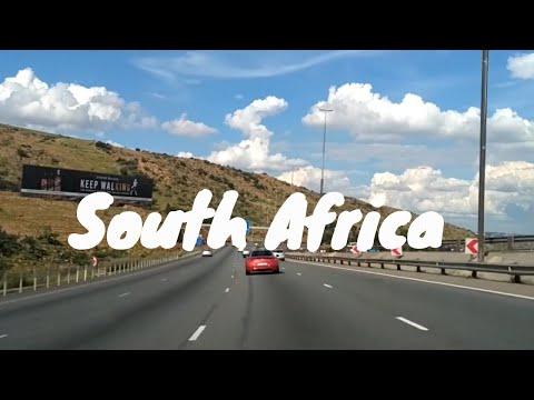 South Africa - Klerksdorp to Johannesburg road trip.