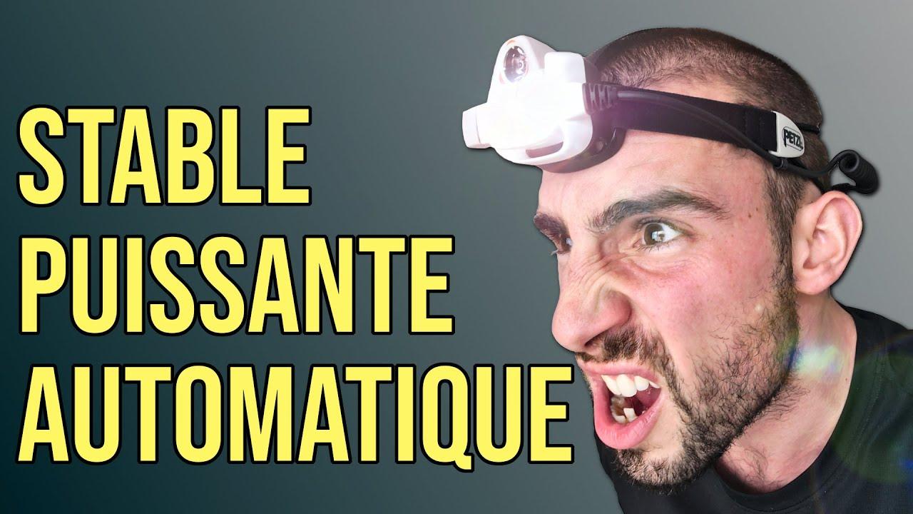 Test De La Lampe Frontale Nao 2 De Petzl Youtube