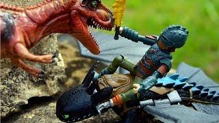 ДИНОЗАВРЫ. Мега битва ДИНОЗАВРОВ. Мультик про Динозавров и Драконов новая серия. ТИРЕКС. ИГРУШКИ ТВ