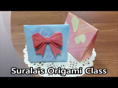 Origami - Paper Bag (Gift Bag) / 종이접기 - 종이 봉�
