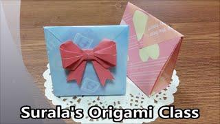 Origami - Paper Bag (Gift Bag) / 종이접기 - 종이 봉투 (선물 포장)