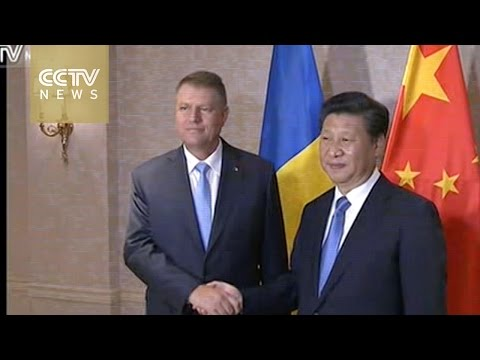 Xi meets with Romanian President Klaus Iohannis