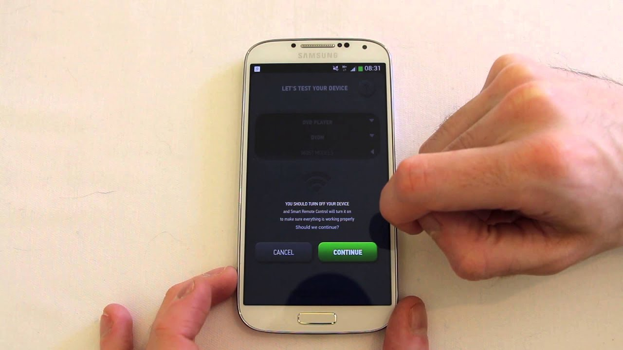 Smart Remote Android take control of your Infrared devices with your  smartphone