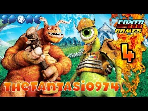 EVOLUTION GECKO !!! - Ep.4 - SPORE, Let's Play avec TheFantasio974
