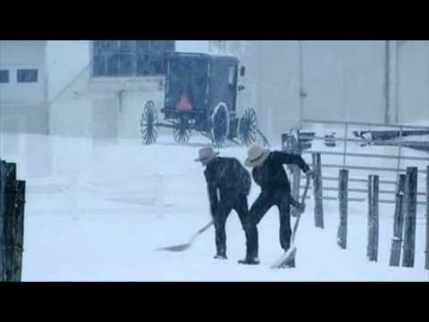 Amish All The Way - Winter Snow