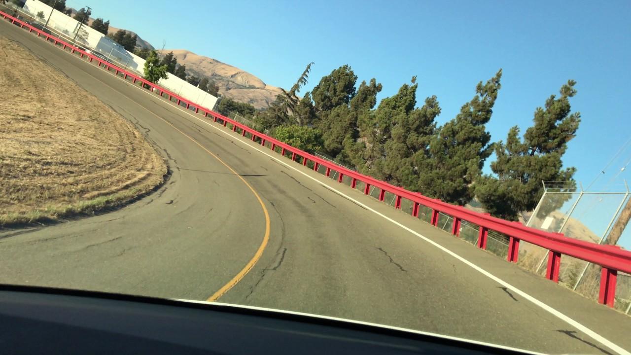 Vip Drive On Tesla Fremont Test Track In Model S P100dl 4k
