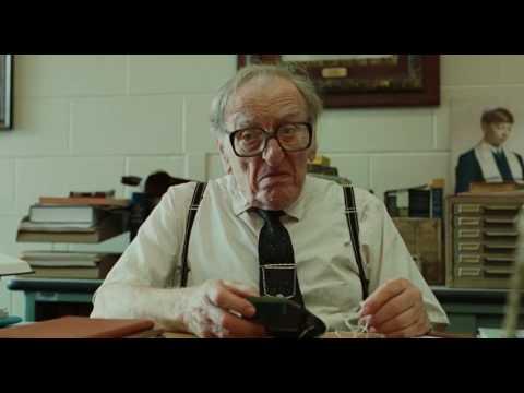 A serious man (2009) - old teacher testing radio