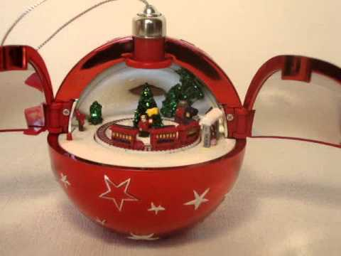 mr christmas hidden music box ornament - YouTube