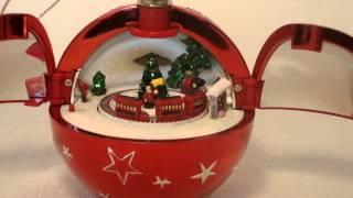 mr christmas hidden music box ornament