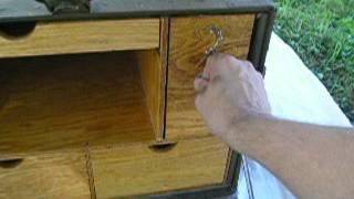 WW2 Field Desk 1944 selling on eBay
