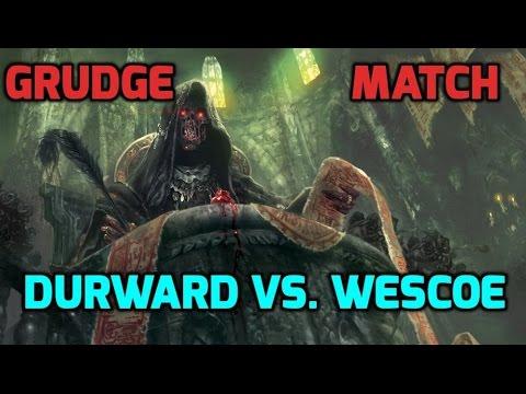 Grudge Match 1, Standard: Durward (RG Ramp) vs. Wescoe (GW Humans)