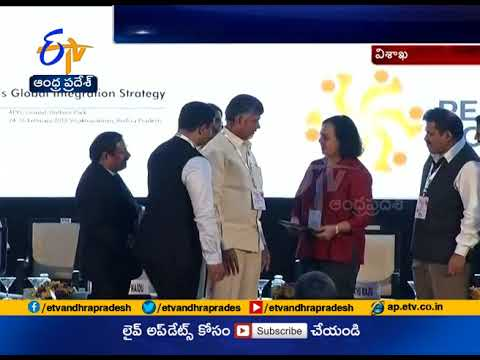 AP Govt MoU with Google at vizag | CII partnership summit