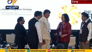 AP Govt MoU with Google at vizag   CII partnership summit
