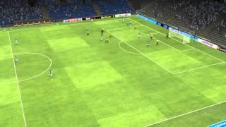Bristol Rovers vs Burton - McCrory Own Goal 9 minutes