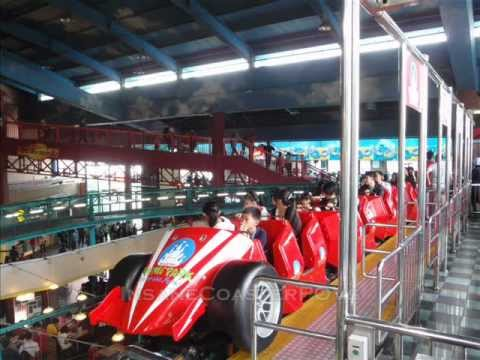 The F1 Coaster at Genting Highland Theme Park