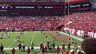 Bucs Touchdown!!! 10/21/18 - Raymond James Stadium - Tampa, Fl