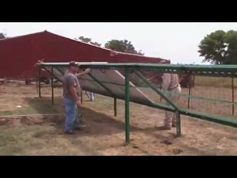 VIDEO of a total install  SOLAR SYSTEM / battery backup GRID TIE solar panels OutBack Power Radian