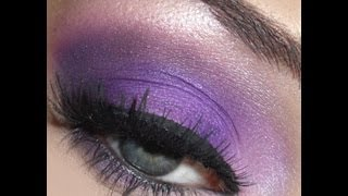 ✨Purple Madness; Purple Smokey Eye Makeup Tutorial✨ Thumbnail