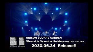 『UNISON SQUARE GARDEN「Bee-side Sea-side U-side」at Zepp Tokyo 2019.10.16』トレイラー
