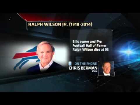 Ralph Wilson, Buffalo Bills owner, dies at 95