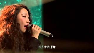 王艺洁《此时的月光》空灵婉转 — 我是歌手第四季谁来踢馆