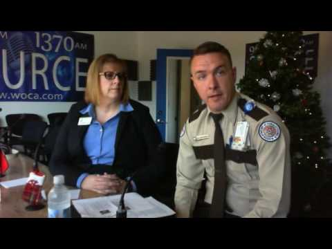 CareerSource Citrus Levy Marion with Laura Byrnes and Officer Timothy