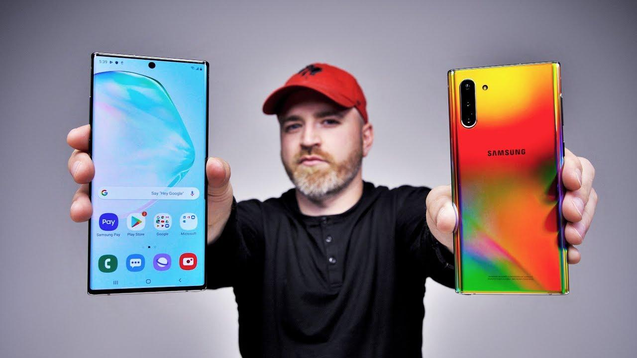 Samsung Galaxy Note 10 zum Anfassen + video