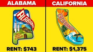 Least Expensive & Most Expensive States in the USA