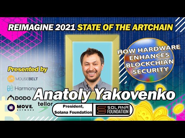REIMAGINE 2021- Anatoly Yakovenko - President of Solana Foundation - Hardware vs Software