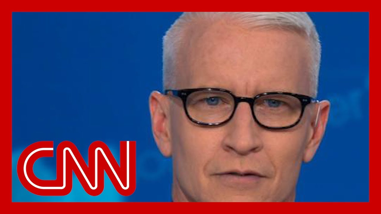 CNN:Anderson Cooper calls out Trump for pushing conspiracy theory