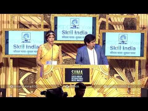 SIIMA 2016 Best Debutant Director Kannada | Anup Bhandari - RangiTaranga