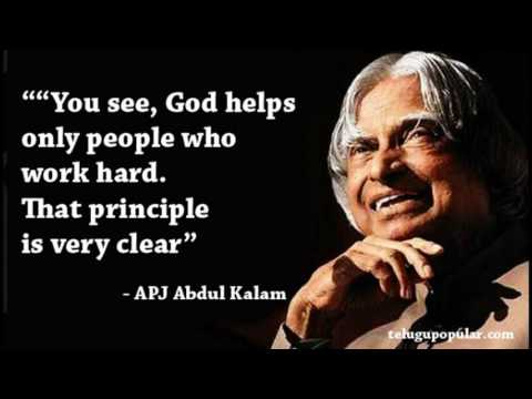 equal participation of woman in all the fields abdul kalam Today, women are in the mainstream of science and many of the world's top scientists are women, said tessy thomas, scientist from the dr apj abdul kalam missile complex, a laboratory under drdo.