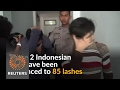 Two Indonesian Men Sentenced To 85 Lashes For Gay Sex video