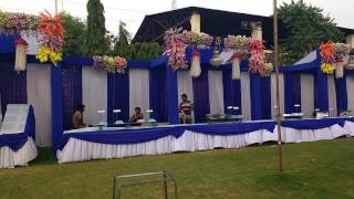 Taj tent house decoration