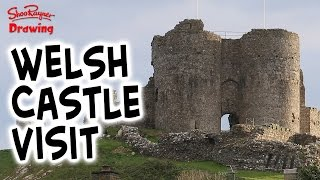 Visiting Castles & eating Fish & Chips!