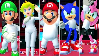 Fencing (All Characters) - Mario & Sonic at the Olympic Games Tokyo 2020
