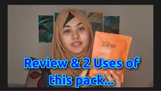 Scrub Mask 2 in 1 with Aarong Earth Orange Peel Face Pack Honest Review of Orange Peel Face Pack