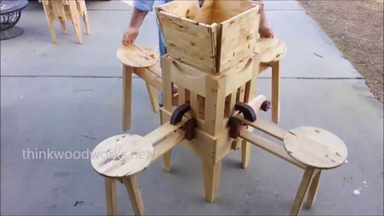 Attractive Wow, Incredible Folding Table!   YouTube