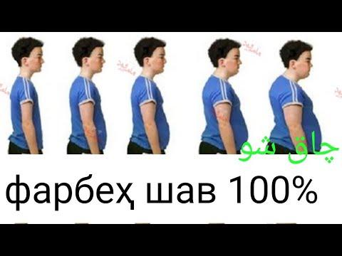ОЁ МЕХОҲИ ФАРБЕҲ ШАВИ? ИН НАВОР РО НИГОХ КУН 100% ТАБИИ .چاق شدن ۱۰۰٪ طبیعی است