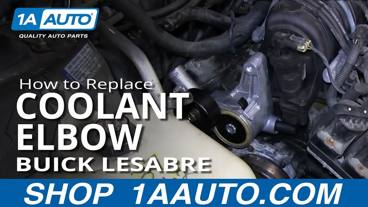 How to Replace Coolant Elbow 9605    Buick    LeSabre  YouTube