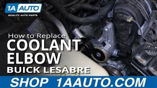 How To Replace The Intake Tensioner Coolant Elbow 1992-99 Buick Lesabre