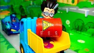 Мультики с игрушками Робокар Полли Герои в масках Свинка Пеппа все серии подряд.
