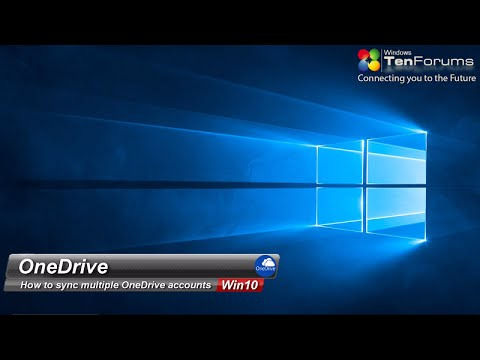 OneDrive  - Sync Multiple OneDrive Accounts