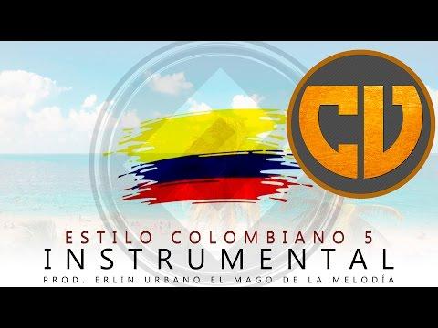 Pista de Reggaeton Estilo Colombiano 5   Prod. Erlin Urbano
