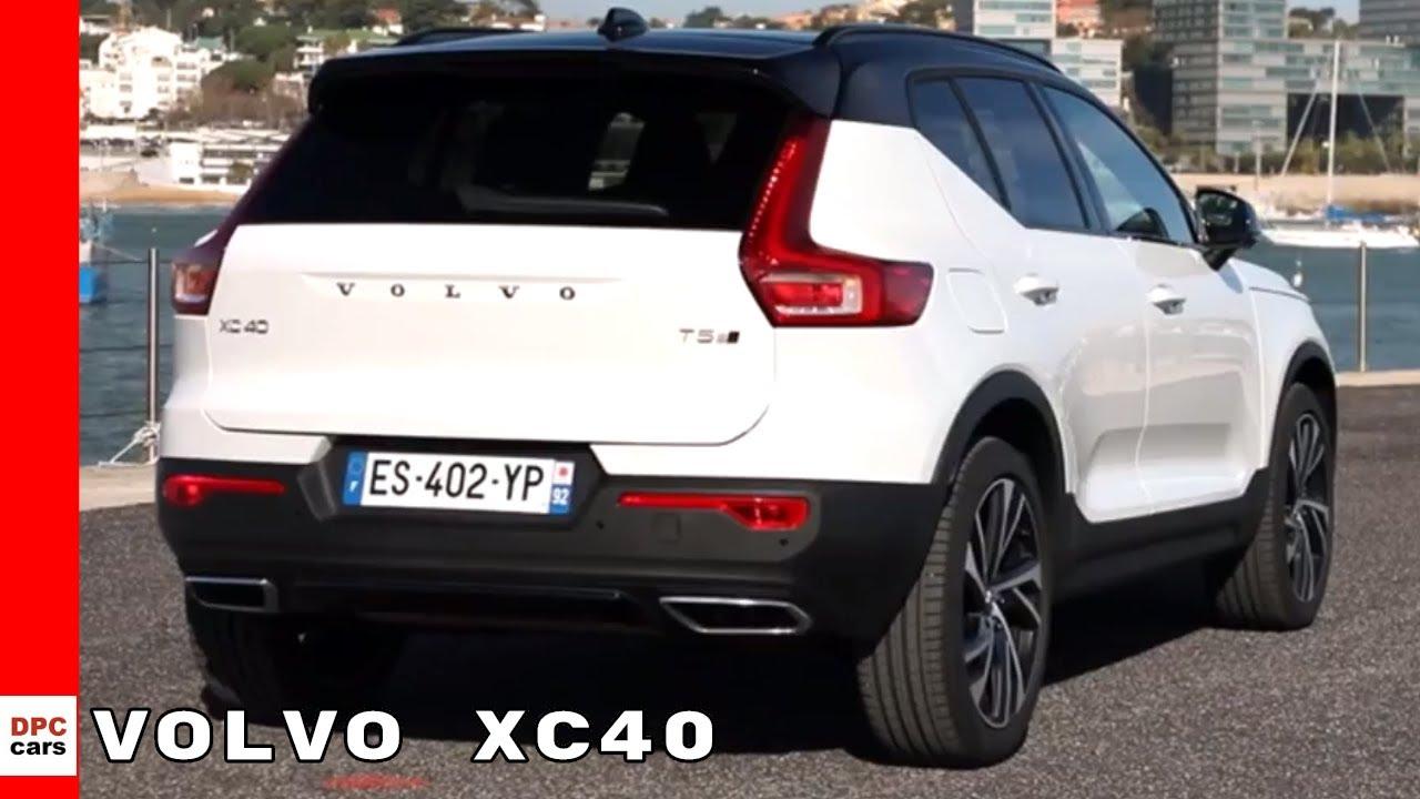Volvo XC40 (2019) Walkaround Tour White Exterior Black Interior